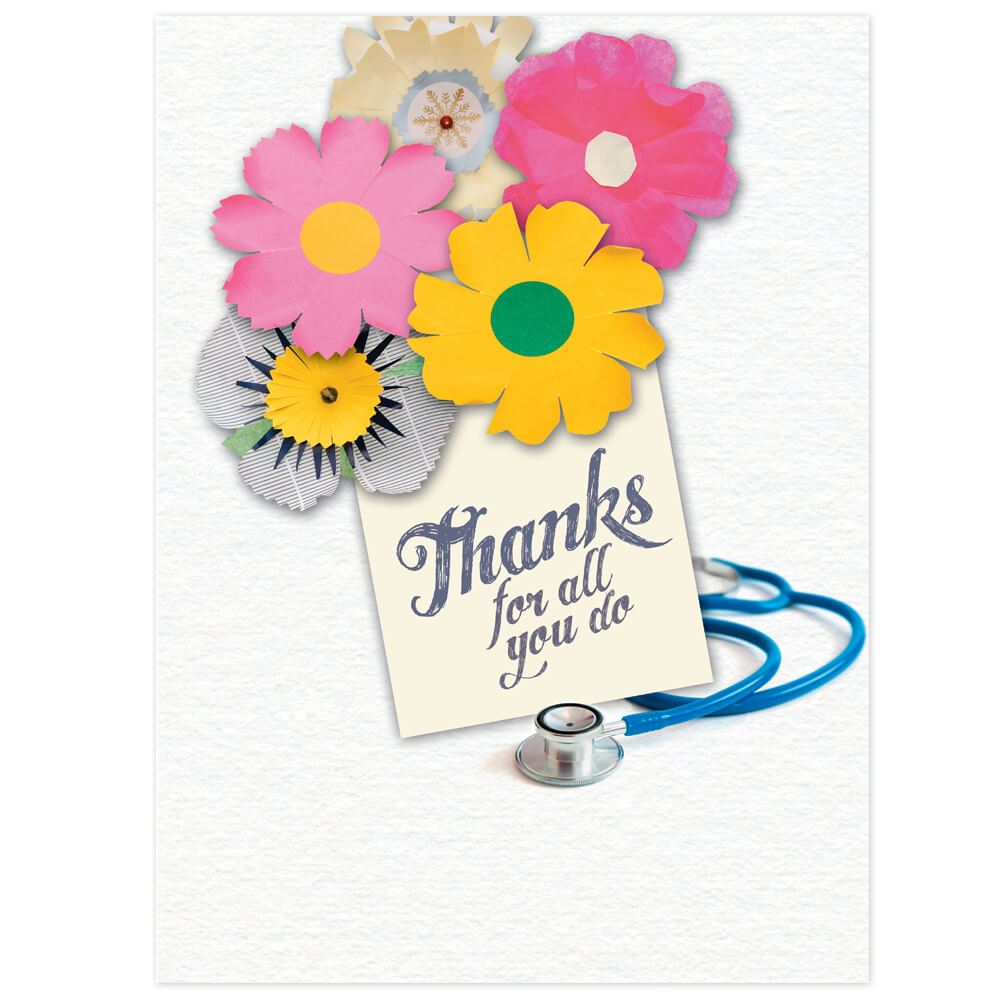 Thank You For All Youve Done Greeting Card Positive Promotions